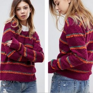 Free People | Best Day Ever Color Block Sweater